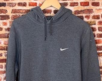 Nike Men's XL Classic Mini Swoosh Paint Splattered Hoodie Sweatshirt