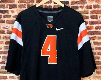 Oregon State Beavers Football Men's XL #4 Jersey Rare made by Nike