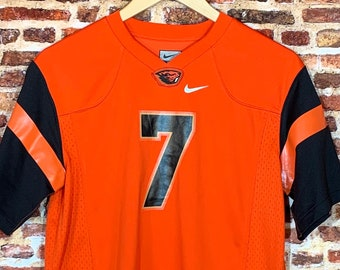 Oregon State Beavers Football Brandin Cooks Youth Large (14-16Y) #7 Jersey RARE made by Nike