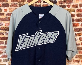 Vintage 90's NEW YORK YANKEES Men's Large Jersey