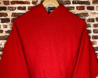 Vintage Early 80's Russell Athletic Men's XL Made in USA Hoodie Sweatshirt Rare