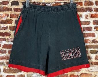 Vintage Early 90's Portland Trail Blazers Men's Small Shorts made by Salem Sportswear