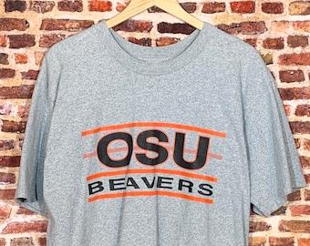 Vintage Oregon State Beavers Men's XL Tee Shirt Rare