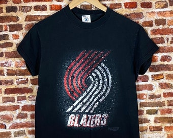 Vintage Portland Trail Blazers Youth Large (14-16Y) Graphic Tee Shirt