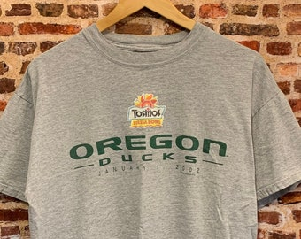 Vintage Oregon Ducks Football 2002 Fiesta Bowl Men's Large Shirt