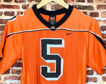 Vintage Oregon State Beavers Football Youth Small (8-10Y) Jersey made by Nike