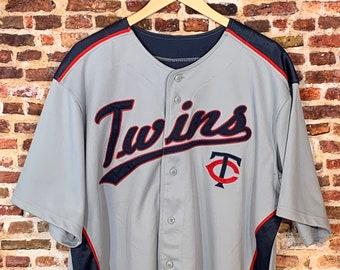 Vintage Minnesota Twins Men's XL Baseball Jersey RARE made by Dynasty