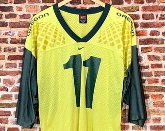 Vintage 2004 Kellen Clemens OREGON DUCKS Football Men's 2XL Jersey RARE made by Nike
