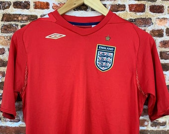 Vintage England National Soccer Team Youth XL Jersey Rare made by Umbro