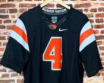Oregon State Beavers Football Men's Small Stitched #4 Nike Jersey Rare