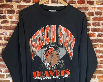 Vintage Oregon State Beavers Men's Medium Crewneck Sweatshirt Rare