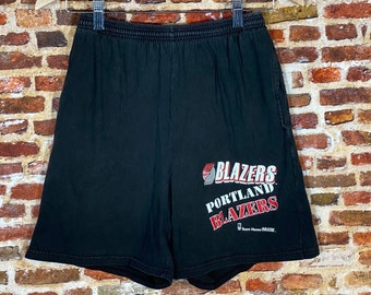 Vintage Early 90's Portland Trail Blazers Men's Small Shorts