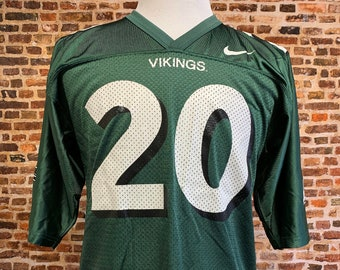 Vintage Portland State Vikings Football Men's Large Jersey RARE made by Nike