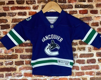 Vintage Vancouver Canucks Infant Size 12-24 Months Jersey Rare made by Reebok