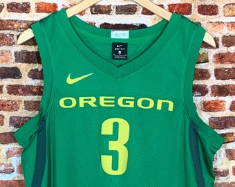 Nike Payton Pritchard Oregon Ducks Basketball Men's Medium #3 Stitched Swingman Jersey Rare