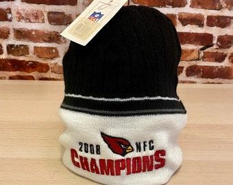 Vintage Arizona Cardinals 2008 NFC Champions Beanie Hat