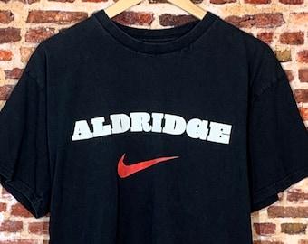 Vintage Nike Lamarcus Aldridge Portland Trail Blazers Men's Medium Tee Shirt