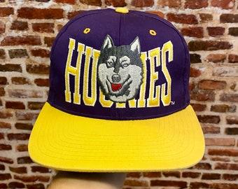 Vintage WASHINGTON HUSKIES SnapBack Hat RARE