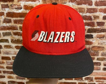 Vintage Portland Trail Blazers Classic New Era Pro Model Fitted Size 7-14 Hat Rare