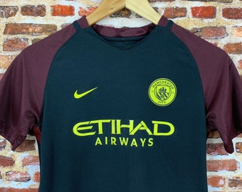 Manchester City Youth Large (14-16Y) Soccer Jersey made by Nike