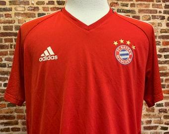 Bayern Munich Men's XL Training Jersey RARE made by Adidas