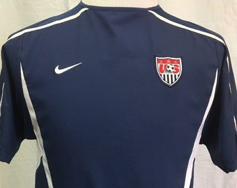 Vintage USA SOCCER Men s Small Authentic Nike Jersey RARE National Team 903993e80