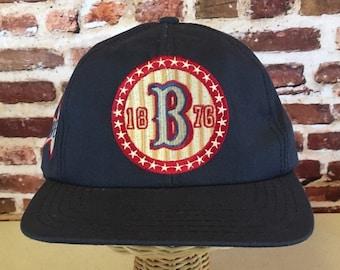 edc3a2ed4fd Vintage 90 s BUDWEISER Snapback Hat Cap RARE