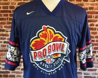8d36125e7 Vintage NFL PRO BOWL Men's Large Jersey made by Nike
