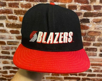 Vintage Portland Trail Blazers Classic New Era Pro Model Fitted Size 7-1/4 Hat Rare