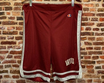 Vintage Champion Washington State Cougars Basketball Men's Small Shorts RARE