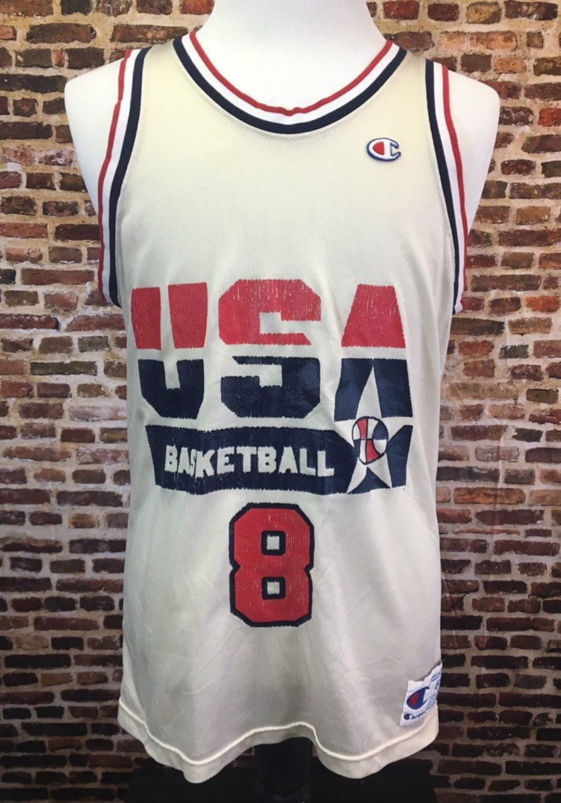 the latest 7d74b 9f3d3 Vintage 90's Scottie Pippen DREAM TEAM Jersey Men's Large (Size 44)  Champion RARE Chicago Bulls Olympics Usa Basketball Authentic