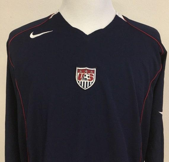 Vintage Nike USA Soccer Mens XL Jersey Rare National Team  f7808dab7