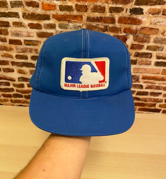 Vintage 80's MLB Patch Snapback Hat Rare