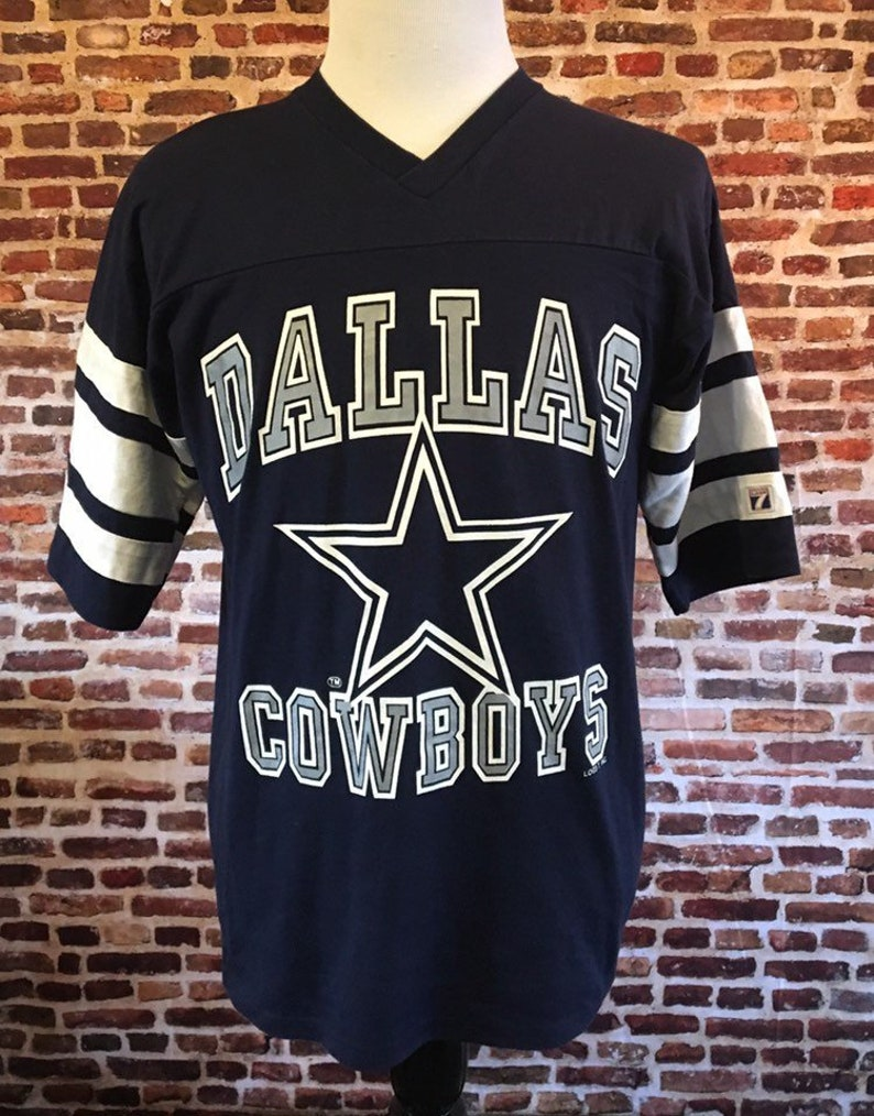 56d499822dd Vintage 90's DALLAS COWBOYS Men's Large Tee Shirt Made | Etsy