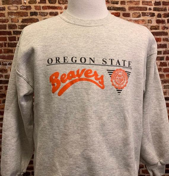 Vintage 90's Oregon State Beavers Men's Large Crew