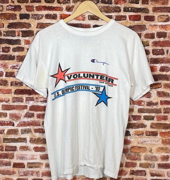 Vintage USA Men/'s Basketball Team Olympic Crewneck Sweatshirt Men/'s XXL Champion Brand