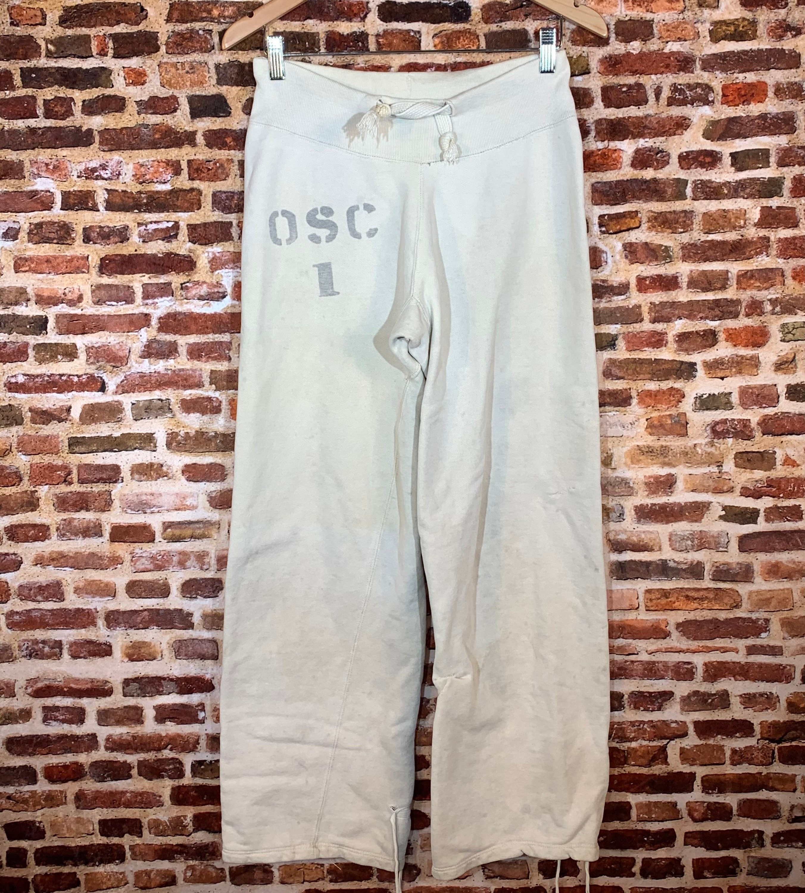 1940s Mens Ties | Wide Ties & Painted Ties Vintage 1940s Oregon State College  Now University Size Medium Sweatpants One Of A Kind $17.00 AT vintagedancer.com