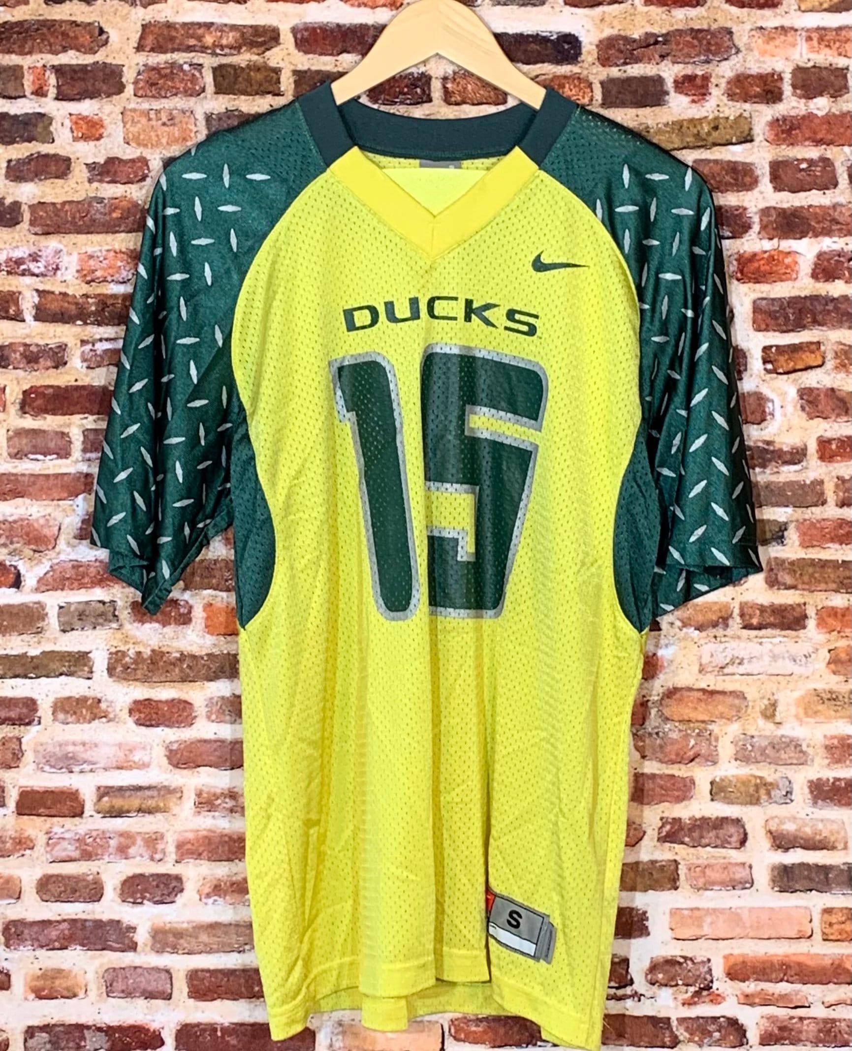 Vintage 2007 Patrick Chung Oregon Ducks Football Men's Small #15 Jersey RARE made by Nike