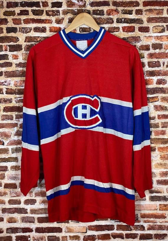 Vintage Montreal Canadians Men's Large Hockey Jers