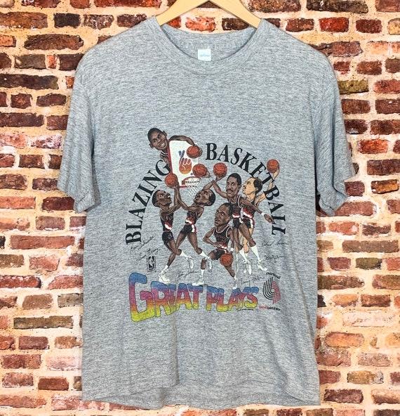 """Vintage 80's PORTLAND TRAIL BLAZERS """"Blazing Baske"""
