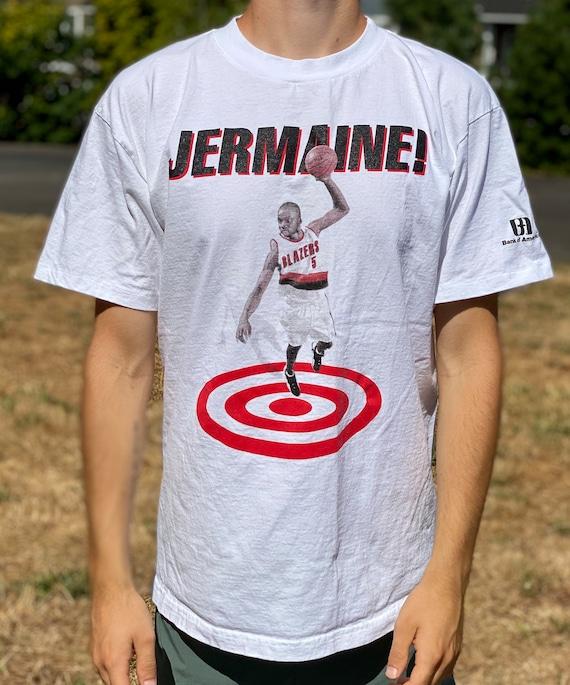 Vintage 90's Jermaine O'Neal PORTLAND TRAIL BLAZER