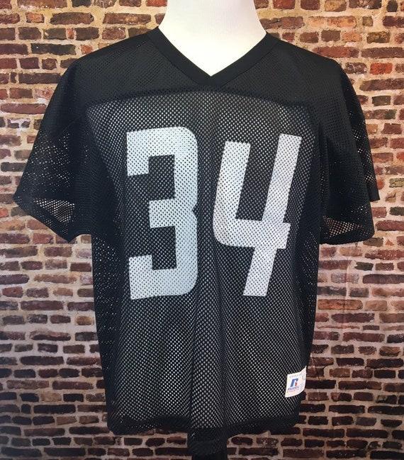 Vintage 80 s BO JACKSON 34 Oakland Raiders Men s  6f0aff02c