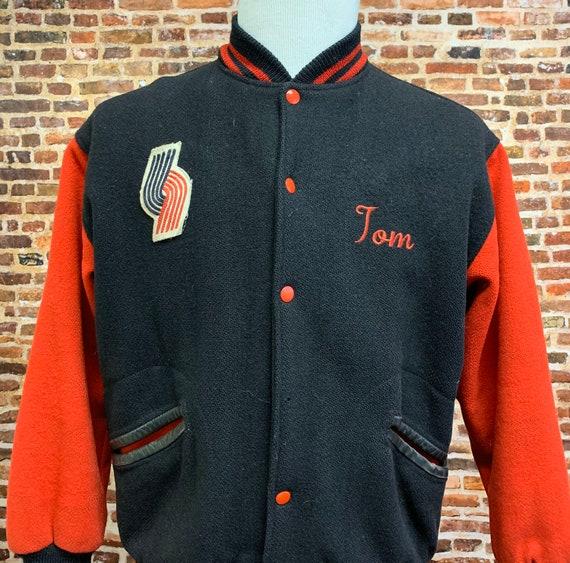 Vintage Portland Trail Blazers Men's Medium Varsit
