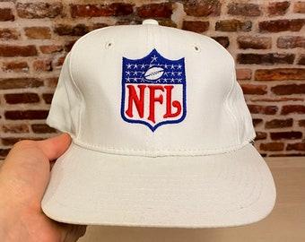 Vintage 90's Sports Specialties NFL Crest Plain Logo Snapback Hat RARE