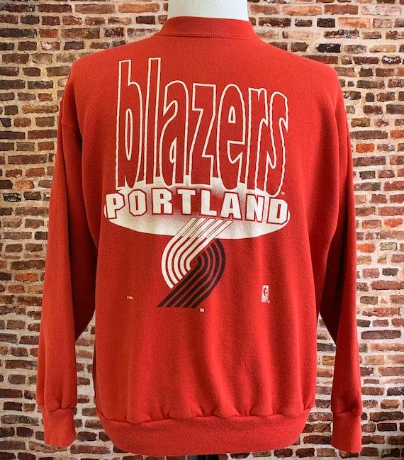 Vintage 90's Portland Trail Blazers Men's Large Pu