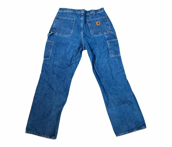 Vintage Carhartt Double Knee 36x32 Work Wear Dung… - image 2