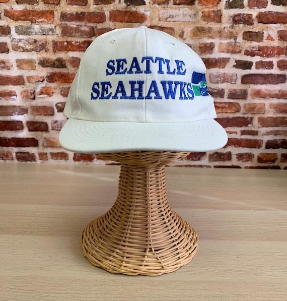 Vintage 80's SEATTLE SEAHAWKS Snapback Hat RARE