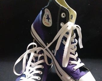 Galaxy Converse, Galaxy Hi Tops, Custom Converse, Nebula Converse, Painted Converse, Galaxy Sneakers, Space Shoes, Galaxy Chuck Taylors