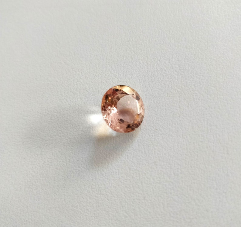 Rectangle Cushion Peach Morganite Matching Pair Natural Gemstones 9x7 mm