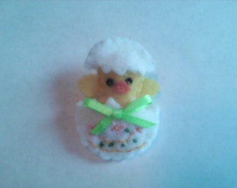 Easter Chick Pin